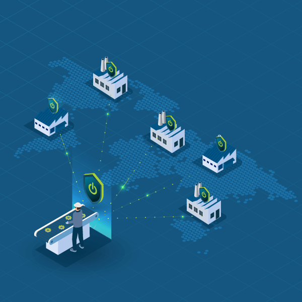 The SiteManager Industrial IoT Gateway ensures easy configuration provisioning for machine providers